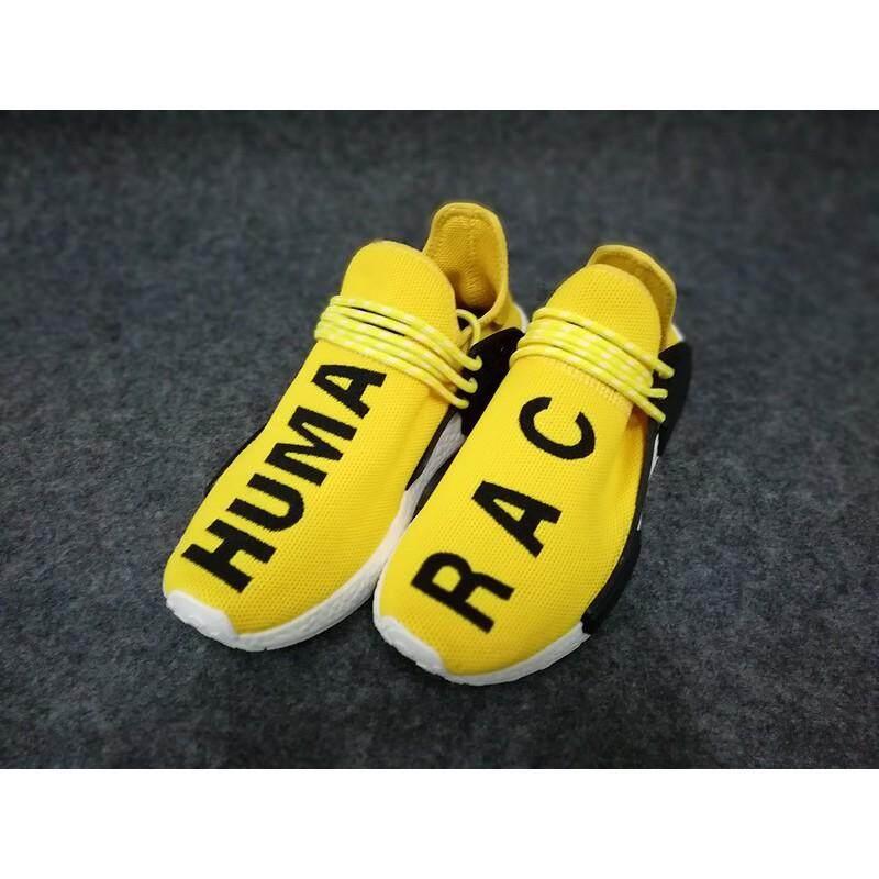 สอนใช้งาน  บึงกาฬ SLK★Pharrell Williams Adidas Original เผ่าพันธุ์มนุษย์ NMD Boost รองเท้าวิ่ง H10