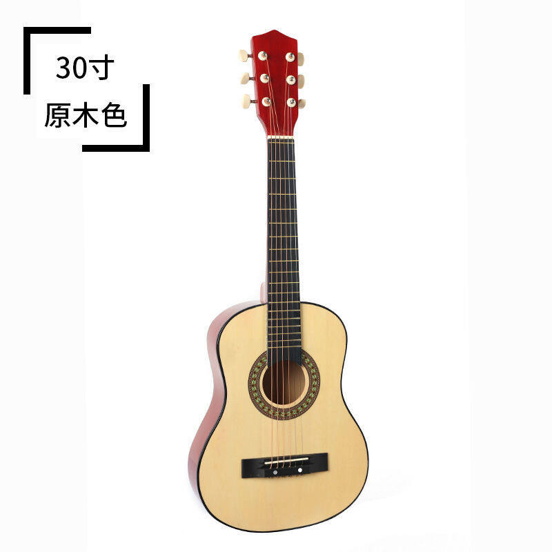 30/34/36 inch folk guitar classical guitar childrens students begin to learn guitar practice∞ Malaysia