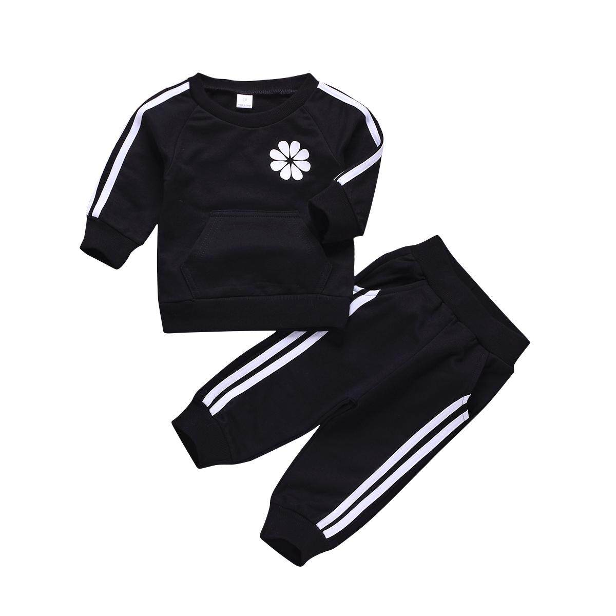 b9ad4316dd609 0-24 Months Kids Boys Casual Sport Suit Outdoor Infant Baby Cotton  Tracksuits 2colors