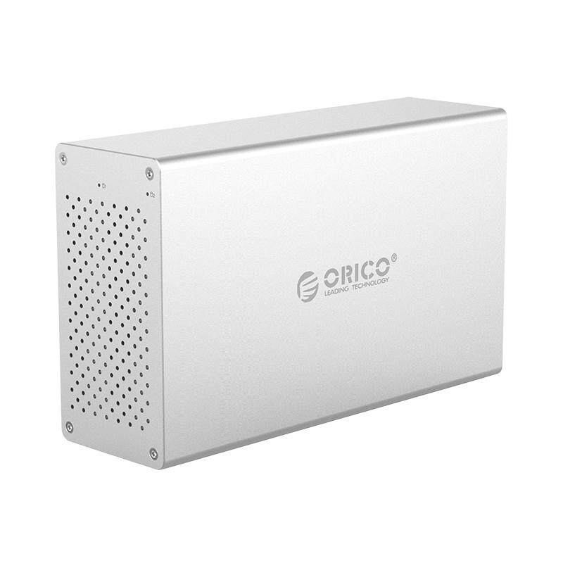 ORICO WS200RC3 Honeycomb Series Dual-disc 3.5-inch Type-C Disk Array Storage Enclosure