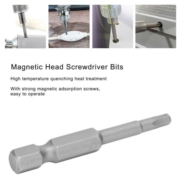 10Pcs Screwdriver Bits Magnetic Head S2 Alloy Steel Hex Socket Industrial Accessories