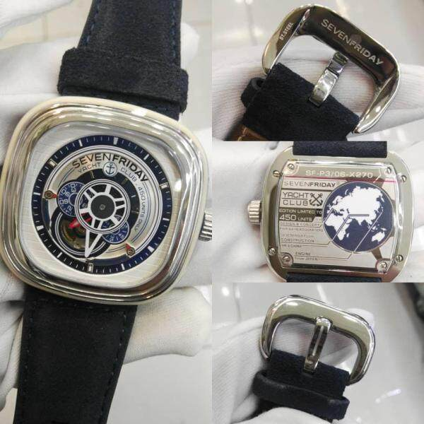 SEVEN_FRIDAY P, Q And _M1-02 M3/01_M-Series Top Design,s Mix Mechanical Automatic Movement Miyota 8215 Engine Leather Strap Mens Watch 7_FRIDAY Malaysia