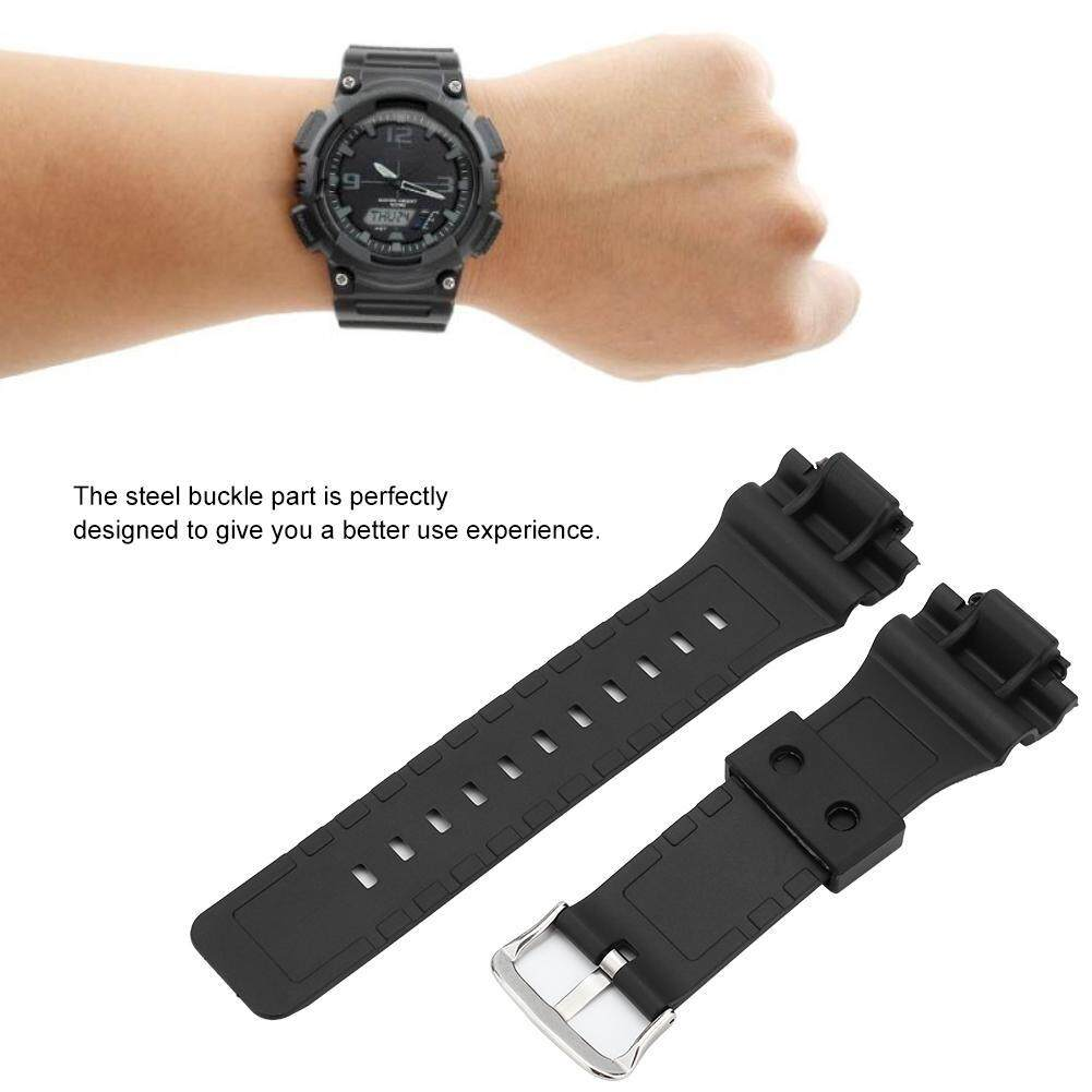PU Watchbands Watch Strap Band Fit for G SHOCK AQ-S800 AS-S810W Malaysia