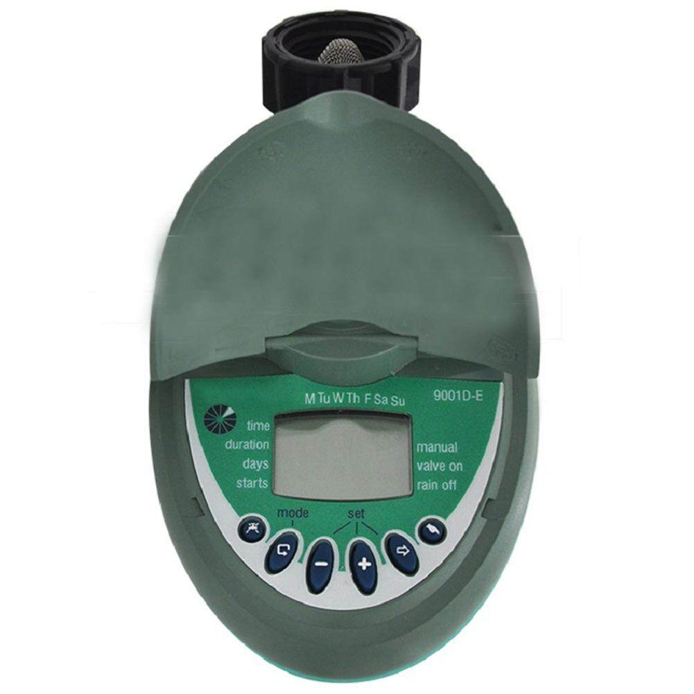 End Garden Battery Powered Digital Clamshell Irrigation Water Timers Controller