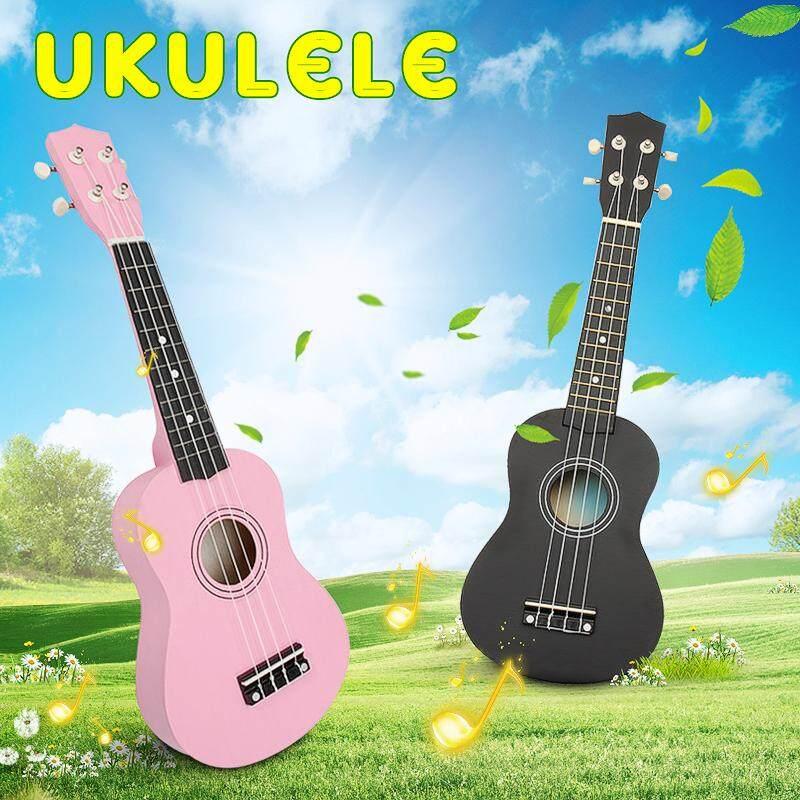 21 Inch Soprano Ukulele Uke Sapele 12 Frets Musical Instrument Hawaiian Guitar