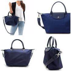 5cadde71bb ... Shoulder Bags. 100% Authentic Made in France Longchamp Neo 1512 (Small)  Series-Navy