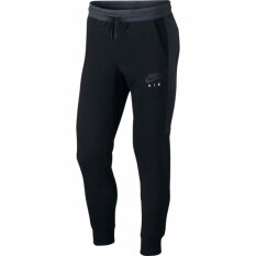 01516c51bef78c 100% Authentic - Nike Mens Sportswear Air Jogger Pant - Black/Anthracite