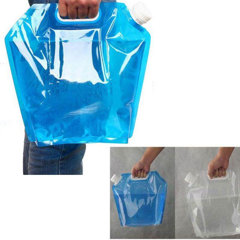 Cq 10l Portable Collapsible Drinking Water Container Emergency Water Storage Bag For Camping Hiking Picnic Cycling By Ciqi Trade.
