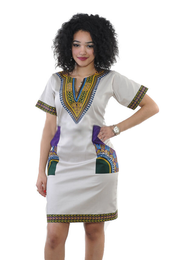 compare price super service professional website 2018 African Dresses For Women Dashiki In African Dress Hippie Shirt Caftan  Vintage Unisex Tribal Mexican Top Bazin Riche