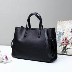 (new arrival) Classic Women Bag Ladies Brand 100% Genuine Leather Handbags Casual Tote Bag Big Shoulder Bags For Women