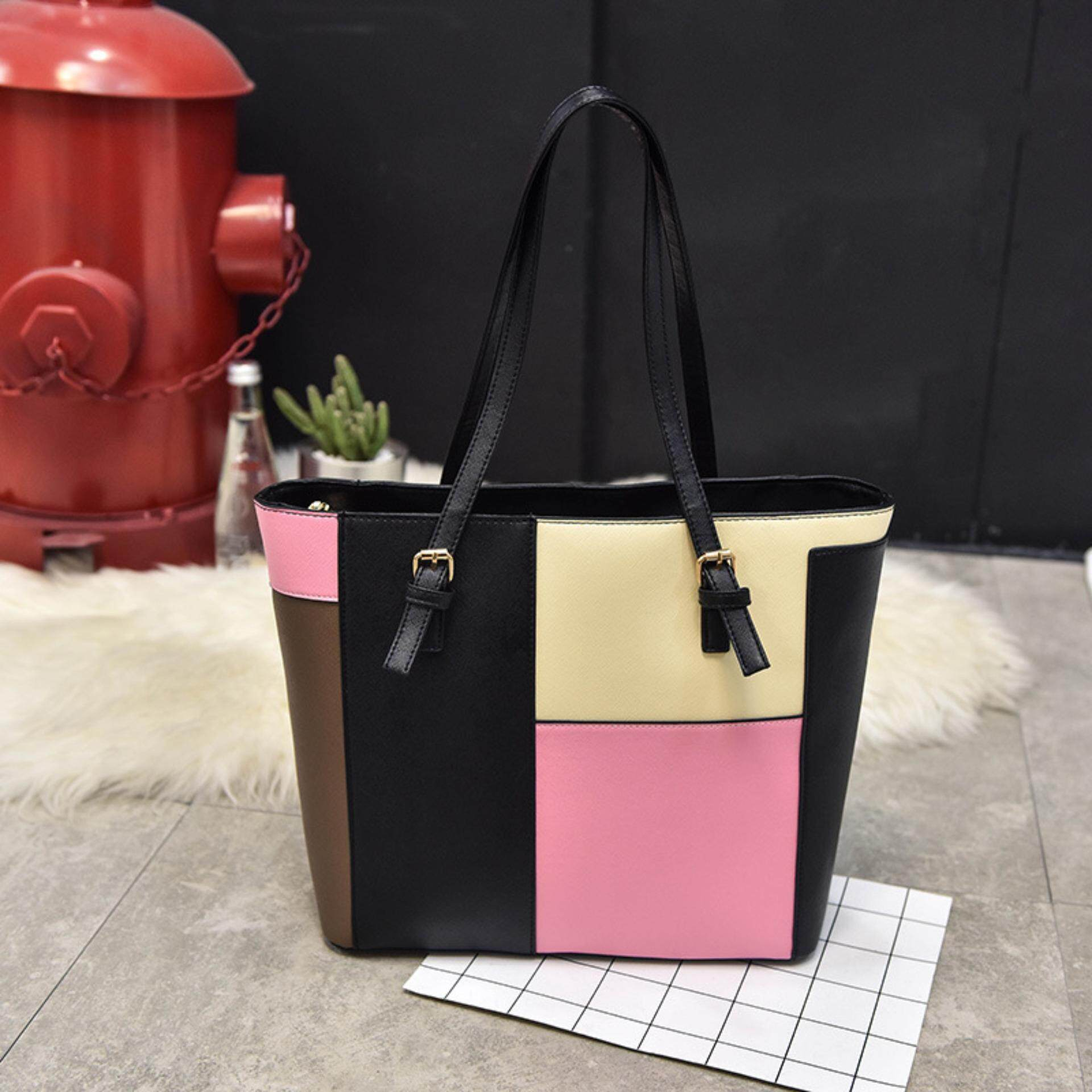 Compare 2017 Glossy Big Tote Women Bags High Quality Women S Pu Leather Handbags Intl