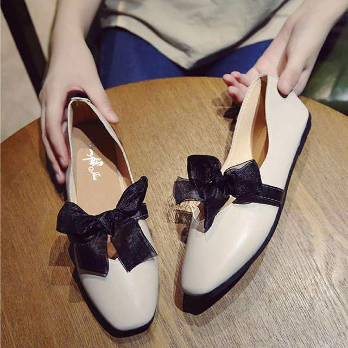 3e37a3bc384 Mengejutkan kedai jualan kejutan HOT Womens Boat Shoes Casual Ballet ...