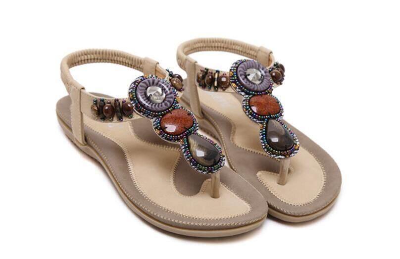 96ef590650489e Flat Sandals for Women for sale - Summer Sandals online brands ...