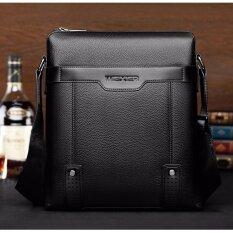 9ddaf844 【ready stock】New Fashion PU Leather Male Shoulder Fashion men's bag  Messenger Small Flap
