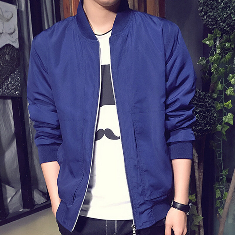 【Free Shipping】2017 New Spring and Autumn Men's Jackets Fashion Coats Male Casual Slim