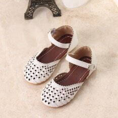6fa4beed3e80f Summer Girls Sandals Korean Cut-outs Princess Baby Toddler Girl Sandals Kids  Casual Flat Shoes