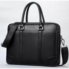 Compare Price 2017 Top Sell Fashion Simple Famous Brand Business Men Briefcase Bag Leather Laptop Bag Casual Man Bag Shoulder Bags Black Other Brands On China