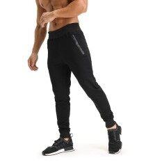 88115ed6 2019 Autumn Winter Gyms Joggers Men Workout Fitness Gyms Cotton Pants  sweatpants Bodybuilding Pants Men Skinny