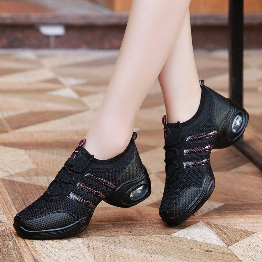 2018 Menari Sepatu untuk Wanita Sepatu Olahraga Baru Tarian Salsa Sepatu Sneaker untuk Wanita Ballroom Sepatu