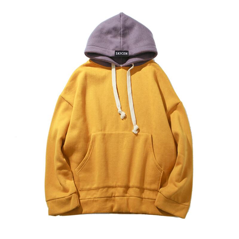 Rp 334.000 2018 Hoodie S Pria Bulu Tebal Tudung Tinggi Jalanan Sweter Tanpa Kancing Katun Modis Panggul Hop Streetwear Kasual Saku Hoodie Musim Gugur ...