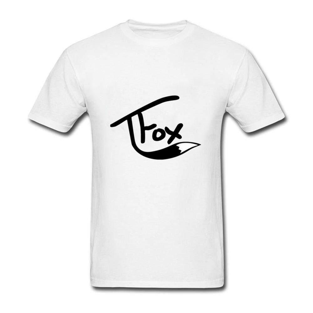 2018 New best order T Shirt Men tee Short Sleeve Skate T shirts Tops Hip Hop T shirt Homme Man Tanner Fox T shirts - intl