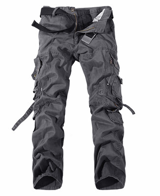 2018 New Men Cargo Pants Army Green Big Pockets Decoration Mens Casual Trousers Easy Wash Male Autumn Army Pants Plus Size 42 - Intl By Buluolandi.