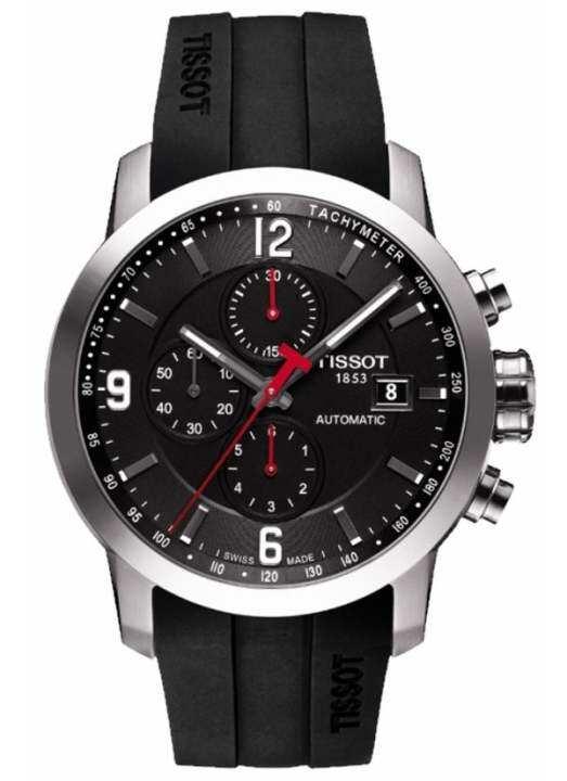 Flash Sale Ready tissot__ Prc 200 T055.427.17.057.00 Automatic Chronograph Mens Watch Malaysia