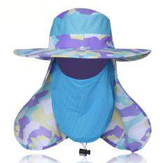 ff798ac0 Abusun Sunscreen Fishing Suns Anti UV Daiva Protection Face Neck Flap Sun  CapHeadband Sun Rain Hat