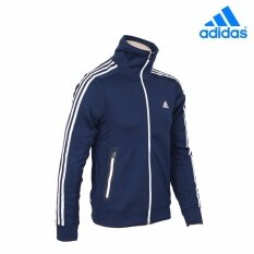 555d91a50a3e Adidas 2017 Men s Knit AK Track Top Jacket Training Jacket Navy White AY3726