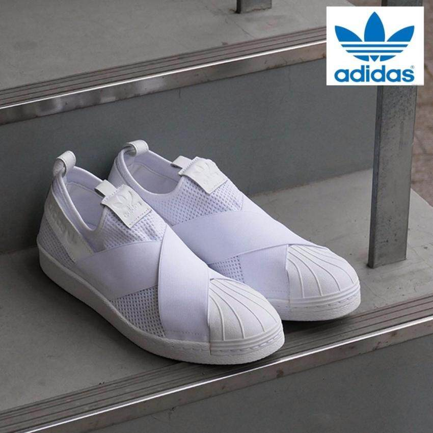 Adidas New Originals Superstar Slip-on (White White) BY2885 Shoes 100%  Original eb77b84a4d