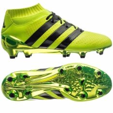 2ccb5bda5f5c 100% Authentic - Adidas ACE 16.1 Primeknit FG / AG Junior - Yellow / Black