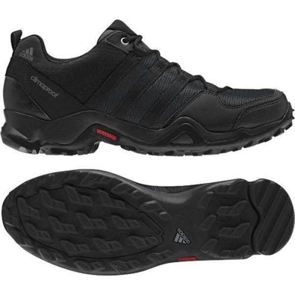 Adidas Adidas Luar Ruangan AX2 CP Daki Gunung Shoe-Hitam/Granit/Gelap Grey-Pria-9-Internasional