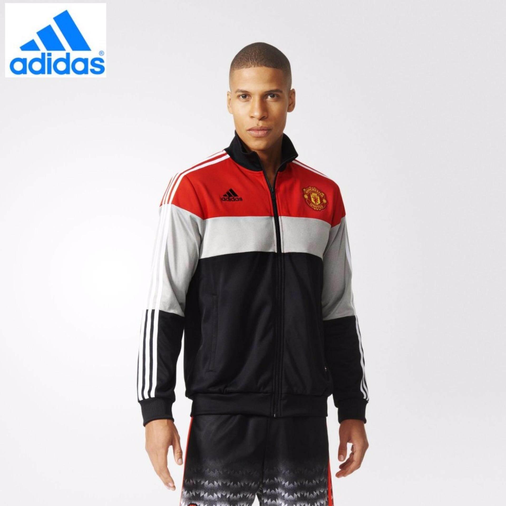 Adidas Hitam Manchester United AJ1247 FC Panel Sepak Bola-Internasional