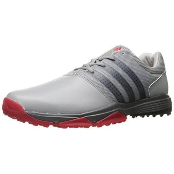 Adidas Pria 360 Traxion Ltonix/Cblack Sepatu Golf, Grey, AS-Internasional
