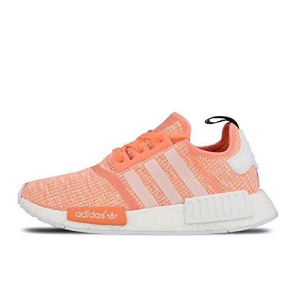 ef4b09312 Adidas NMD R1 W Glitch Sun Glow Coral Pink Haze BY3034 US Womens Size 10 -