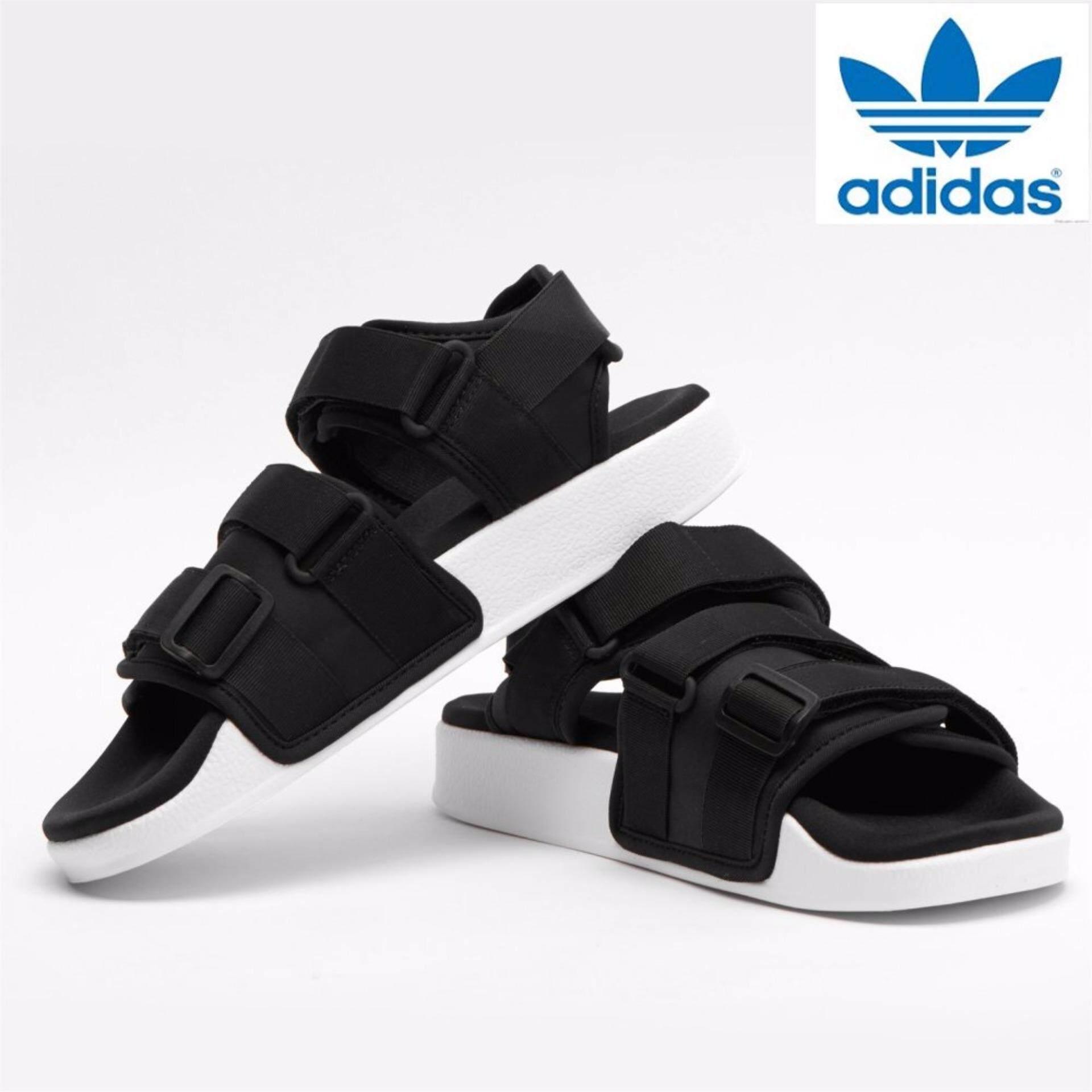 Adidas Originals Sandal ADILETTE W S Hitam Putih Internasional
