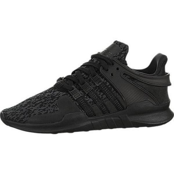 ... size 40 35e21 f3a80 adidas Originals Mens EQT Support ADV Core Black  Sub Green 7.5 D ... 3a41d165f
