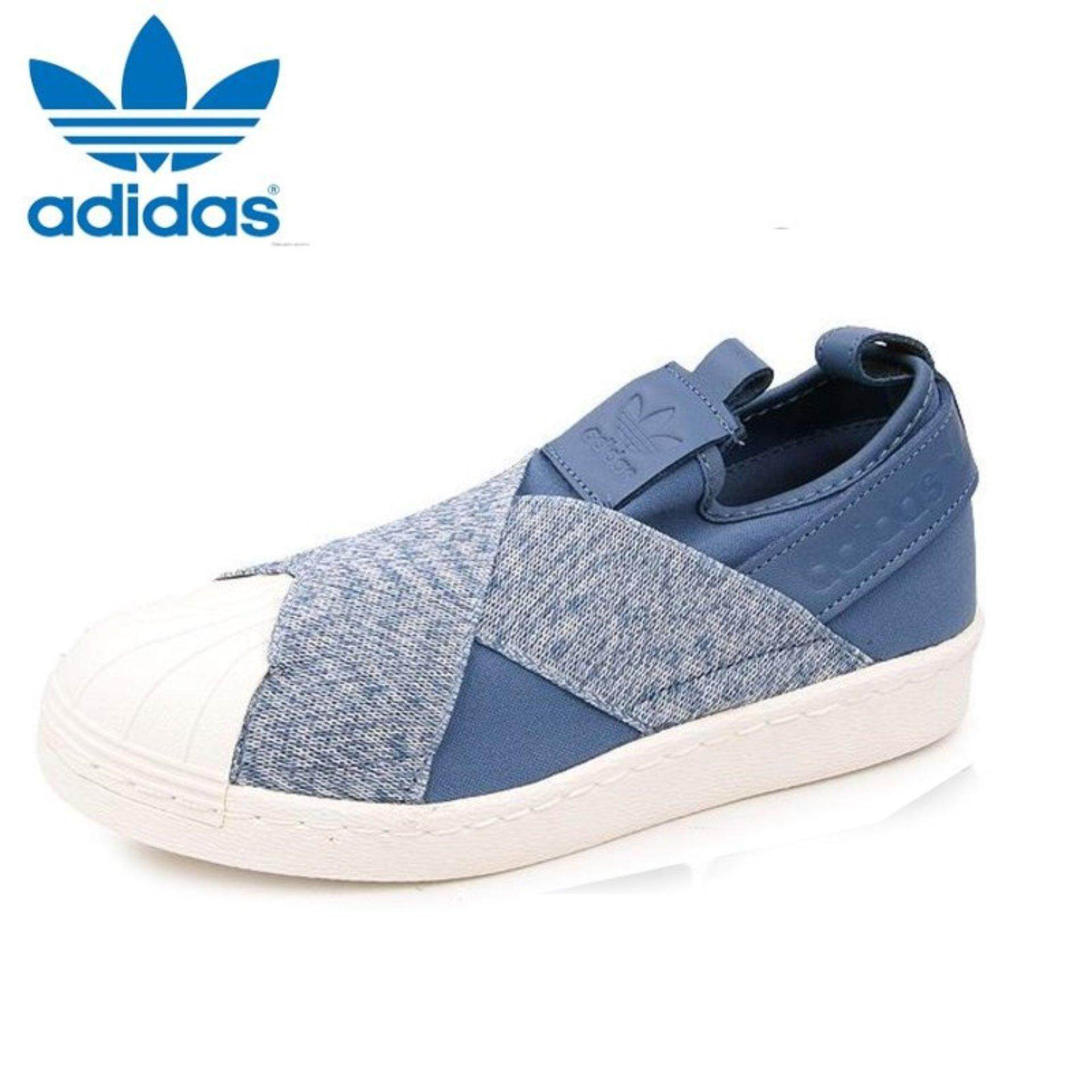 Adidas Originals Superstar Slip-on Shoes S76410 Express Tech Ink - intl |  Lazada PH