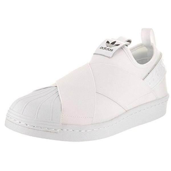 adidas Originals Womens Shoes Superstar Slip On W Sneaker, White/White/Black, - intl
