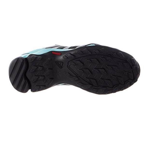 Adidas Luar Ruangan Adidas Luar Ruangan TERREX AX2R Sepatu Daki Gunung-Wanita CH Polos Grey/Dgh Polos Grey/Bening Aqua, 9.0-Internasional