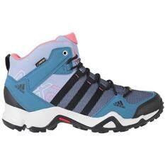 Adidas Outdoor AX2 Mid GTX Hiking Boot  Womens Prism Blue Black Super Blush