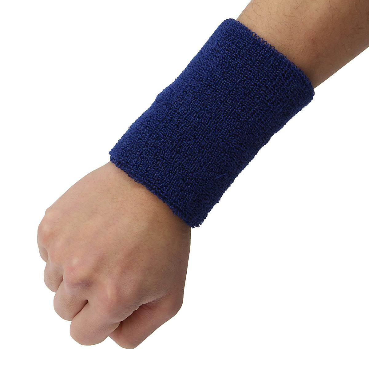 AOLIKES 11X7.5cm Towel Wristband Wrist Hand Protector WrapGuards Gym Wrist Support Sweat band for