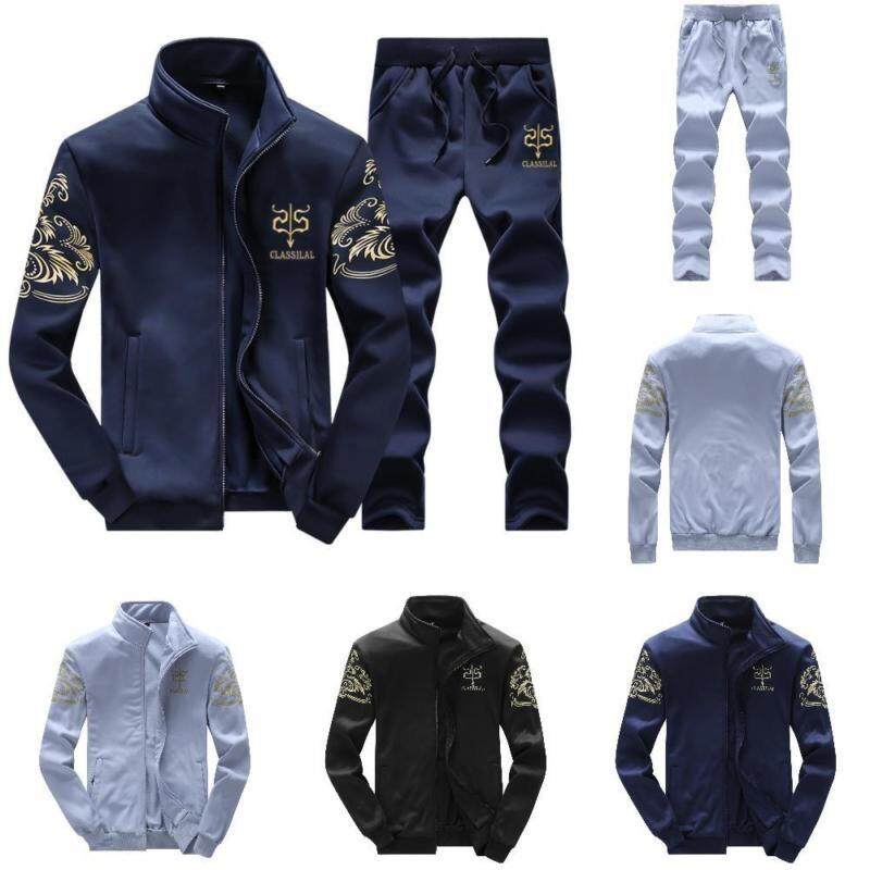 ac44c532 Ashley May New Fashion Hoodies Casual Mens Tracksuits Men Tracksuit Suit  Set Men Hoodies with Pants
