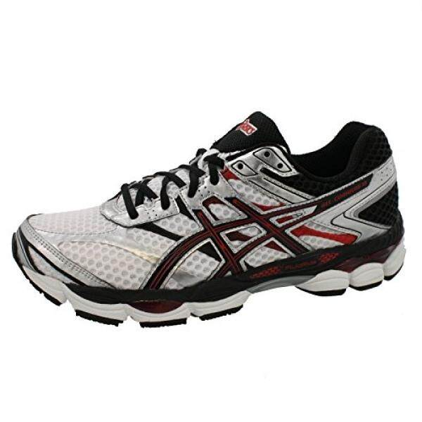 ASICS Mens Gel-Cumulus 16 Running Shoe,White/Black/Red,15 M US - intl