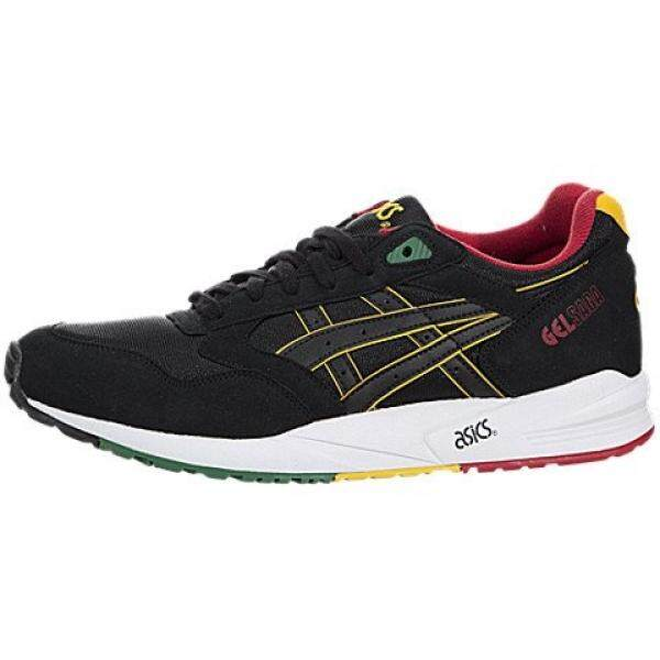 ASICS MENS GEL SAGA SNEAKER Black - Footwear/Sneakers 11 - intl