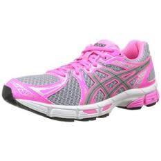 ASICS Womens Gel-Exalt 2 Lite-Show Running Shoe,Lightning/Silver/