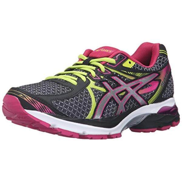 ASICS Womens Gel-Flux 3 Running Shoe, Black/Silver/Sport Pink, US - intl