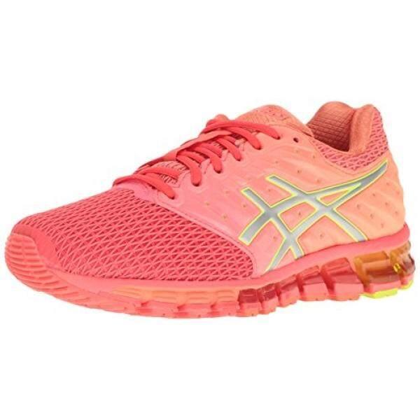 61ab4d69 ASICS Womens Gel-Quantum 180 2 Running Shoe, Diva Pink/Silver/Coral Pink,  US - intl