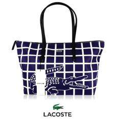 Authentic Lacoste Croc Large Tote Bag Navy
