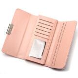 Baellerry Popular Women's Wallets Clutches Bags Hand Bag Fashion Ladies Three Fold Wallets - Light Green | Lazada